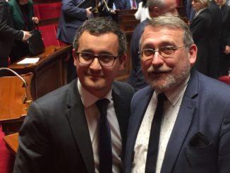 Gerald Darmanin et Joel Giraud