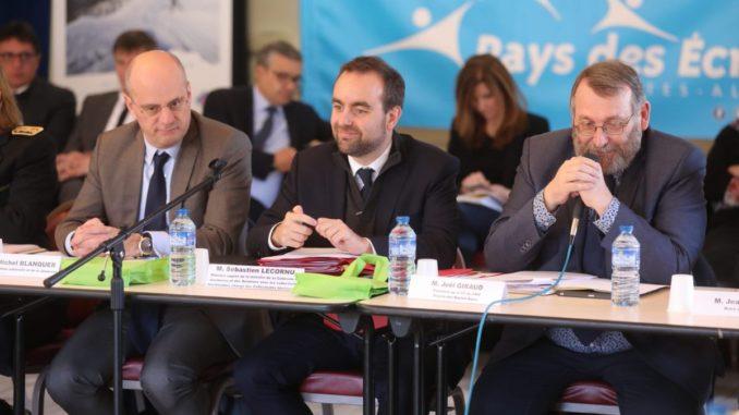 Joël GIRAUD Jean-MICHEL BLANQUER Sébastien LECORNU