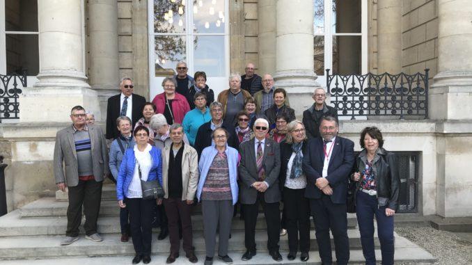Les aînés ruraux des Hautes-Alpes aux côtés de Pascale Boyer et Joël Giraud à l'Assemblée Nationale