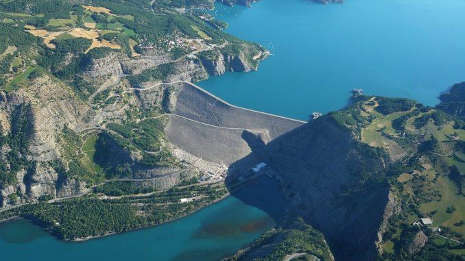Le barrage du Lac de Serre-Ponçon