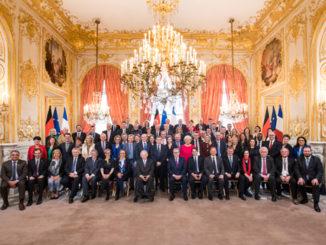 Les membres de l'Assemblée inter-parlementaire franco-allemande étaient réunis pour la première fois ce matin à l'Assemblée Nationale