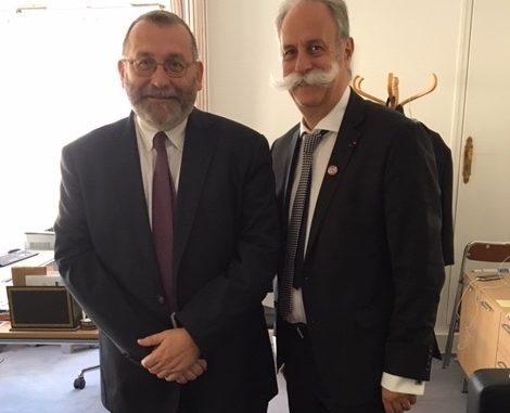 Joël Giraud et Bernard Stalter, Président de CMA France