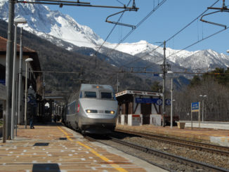 train en gare de oulx